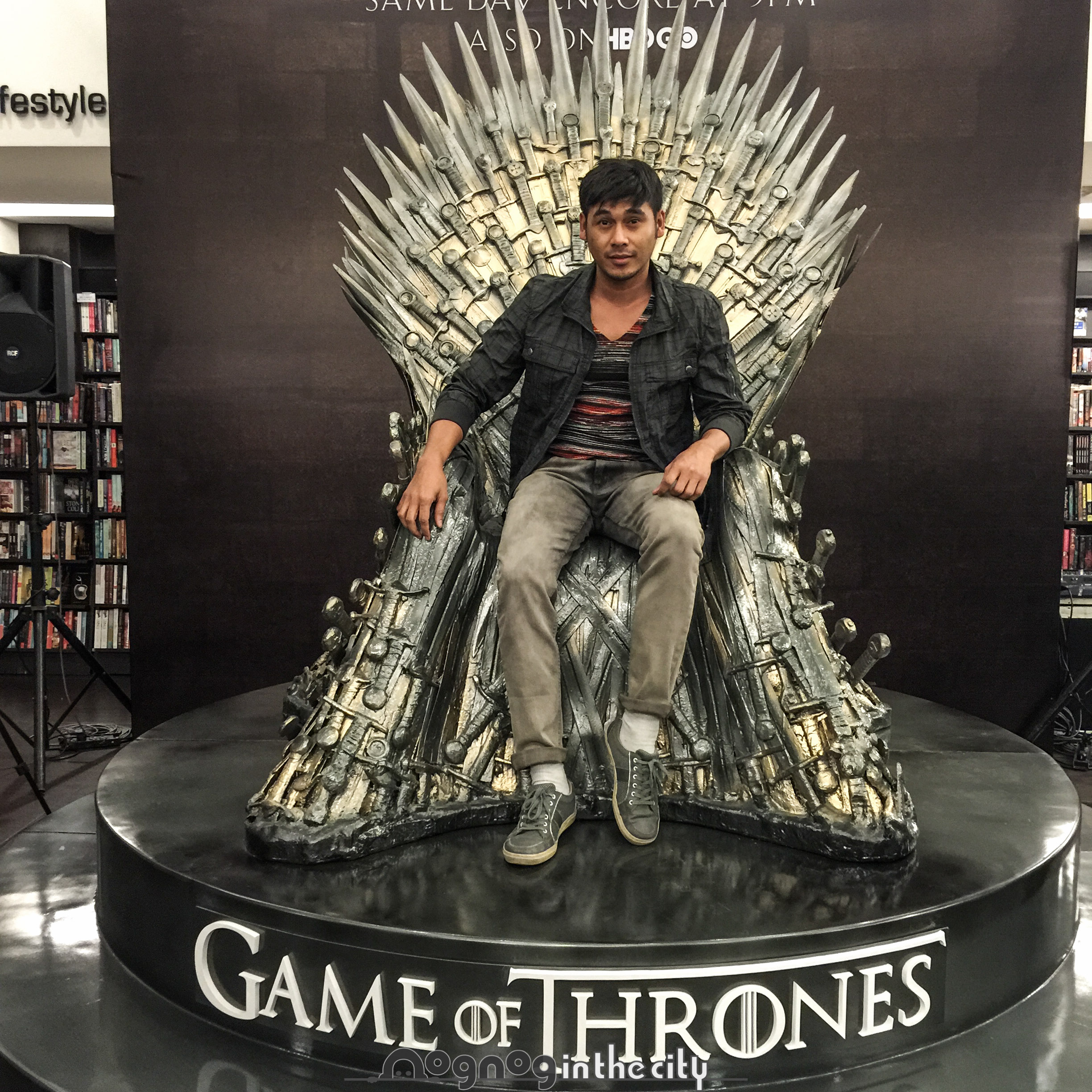 Game Of Thrones The Iron Throne 6 Nognog In The City