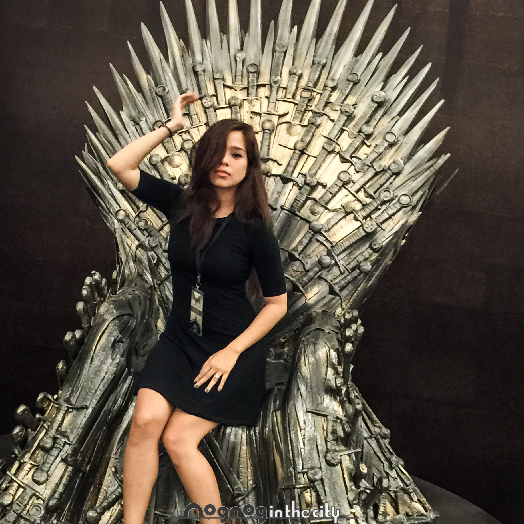 Game Of Thrones Iron Throne Replica Is In Manila