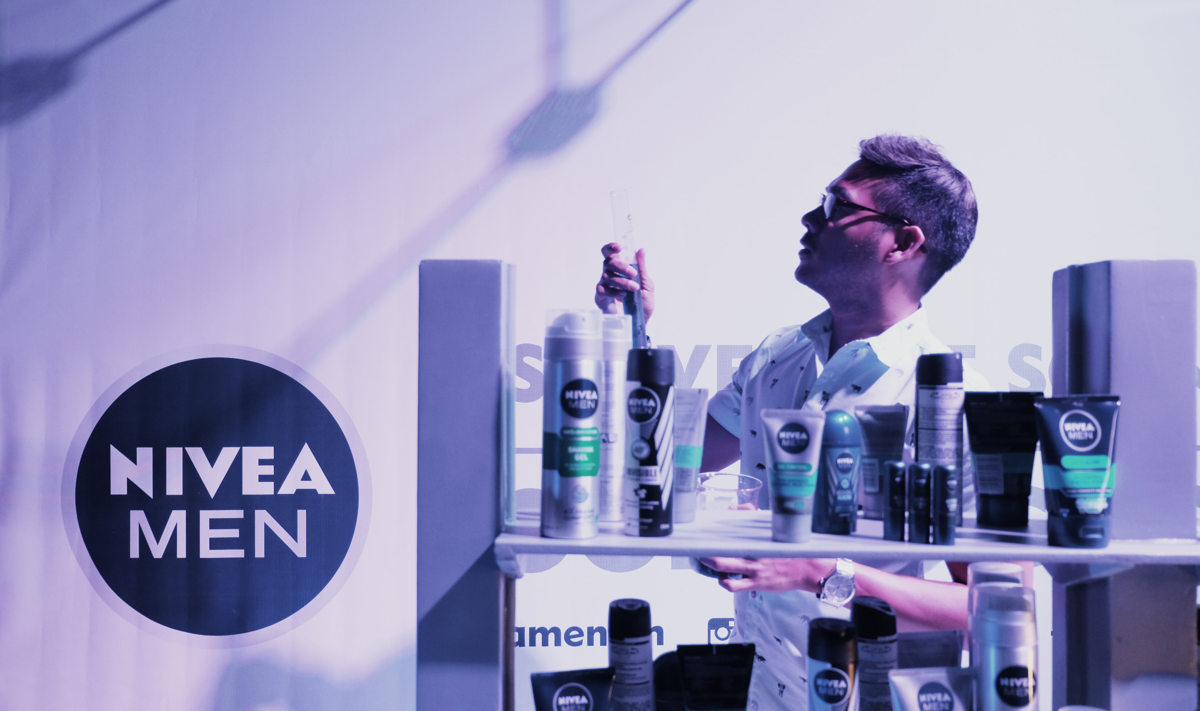 The BHAGs & WTM in Nivea Men's Science of Looking Good | Nognog In The City