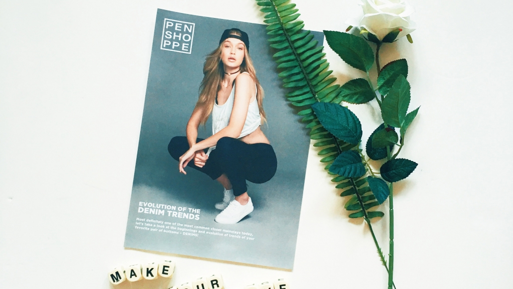 Gigi Hadid for Penshoppe Power Stretch Jeans