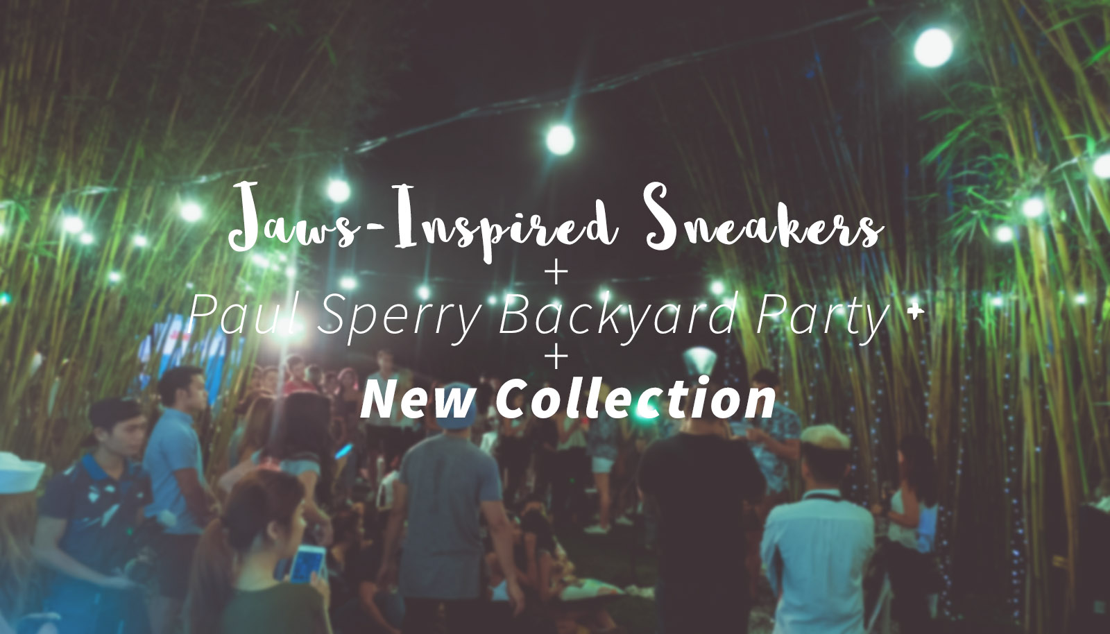 jaws inspired sneakers paul sperry backyard party