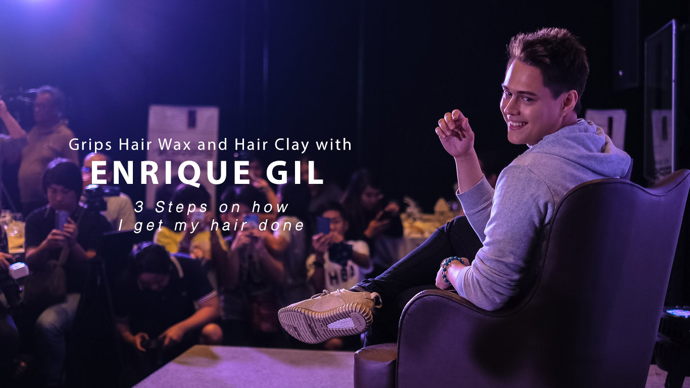 Enrique Gil For Grips Hair Wax And Hair Clay Getting My Hair Done
