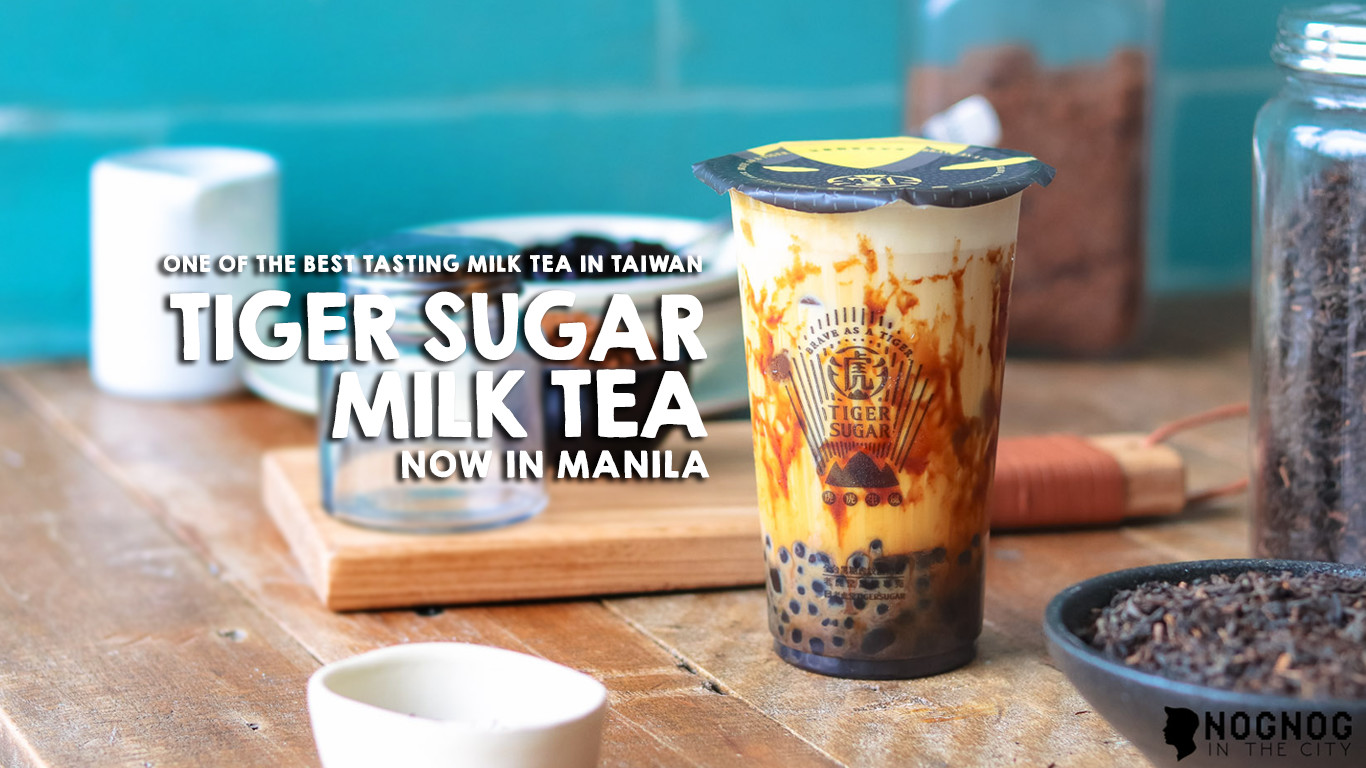 Tawain S Tiger Sugar Milk Tea Now In Manila Traveling In